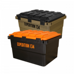 Expedition134 Heavy Duty Plastic Storage Box 55L - Mix and Match Colours