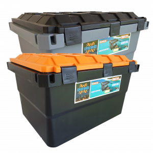 Expedition134 Heavy Duty Plastic Storage Box 55L – Mix and Match Colours