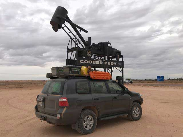 expedition 134 camping storage boxes on top of vehicle