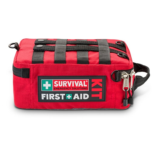 Survival Workplace First Aid Kit Hero Lay Down HR Open Sky Touring