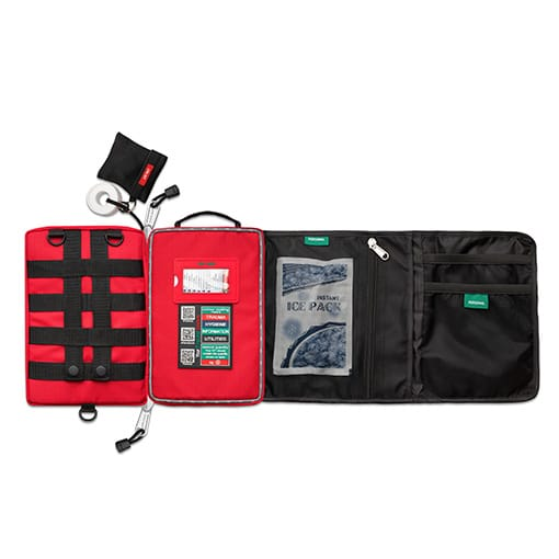 Survival Workplace First Aid Kit 2018 V2 flat HR Open Sky Touring