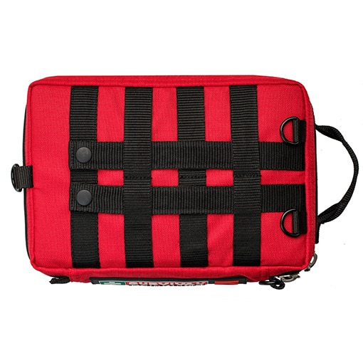 Survival Workplace First Aid Kit from above back HR Open Sky Touring
