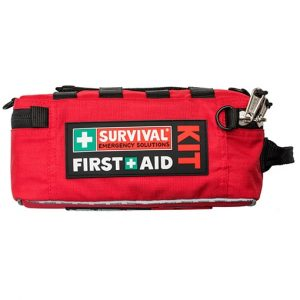 Survival Workplace First Aid Kit from above side Open Sky Touring