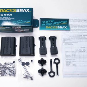 RacksBrax Standard HD Hitch Box Contents 2 Open Sky Touring