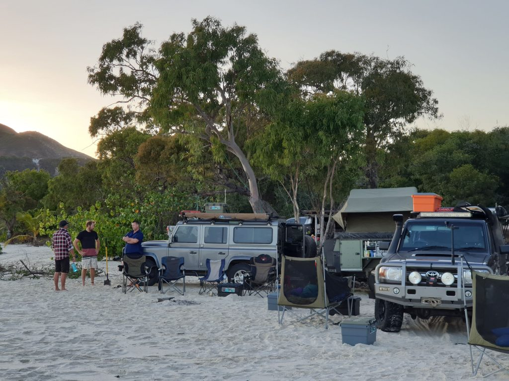 Cape York Camping Camp Open Sky Touring