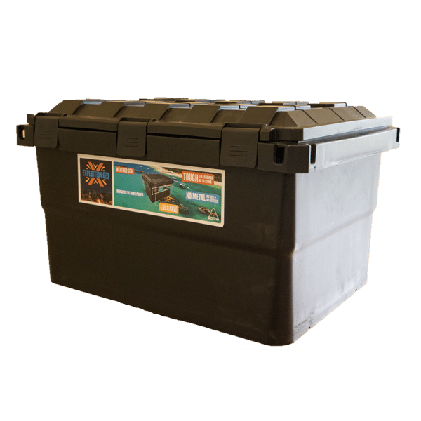 Expedition 134 Black Storage Box Open Sky Touring