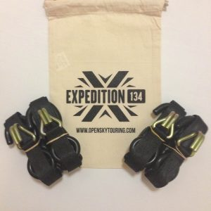 Expedition134 QR Straps Open Sky Touring