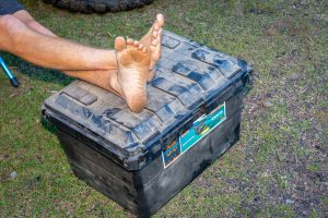 Exp 134 Bendethera camping storage boxes