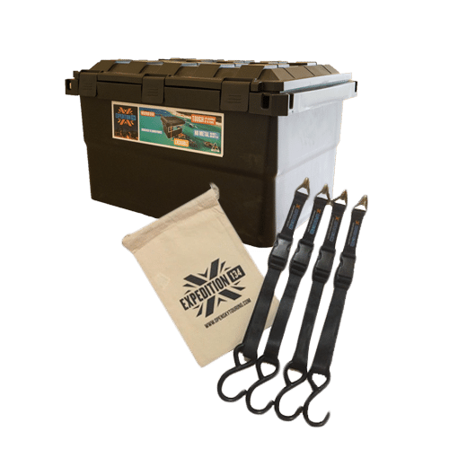 Expedition134 Box and Straps Bundle Open Sky Touring