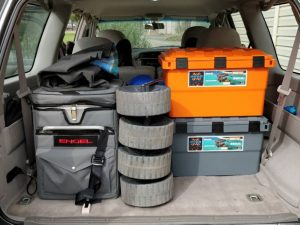Real Wagon with camping storage boxes - Cremulator Open Sky Touring