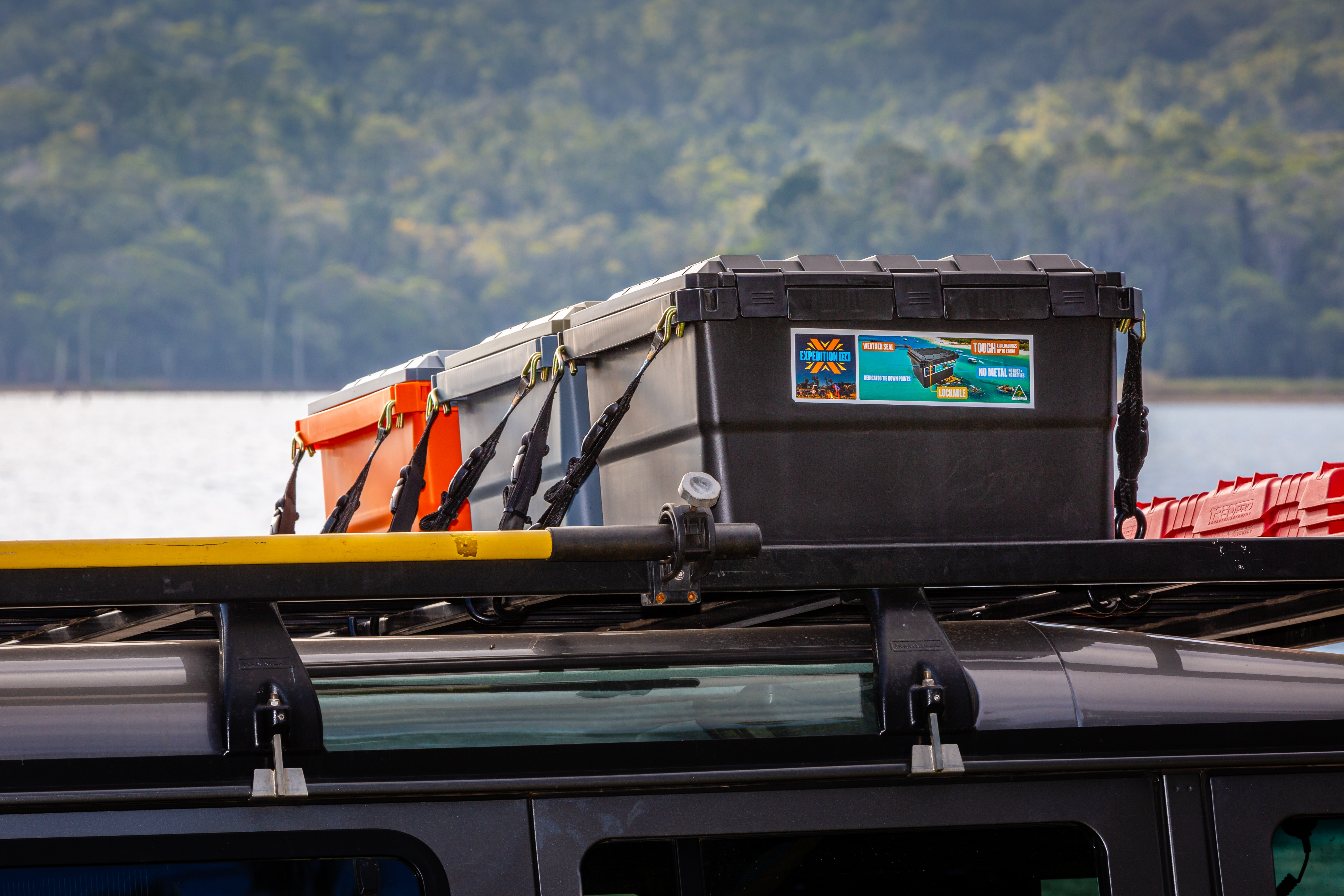 Expedition134 4WD Storage Boxes Open Sky Touring