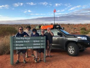 Simpson Desert Crossing withxpedition 134 camping storage boxes Open Sky Touring