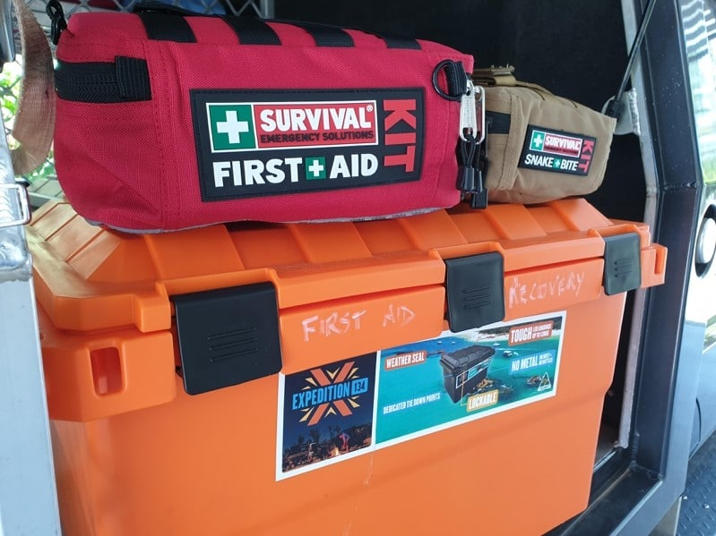 First Aid Kit on Expedition Box