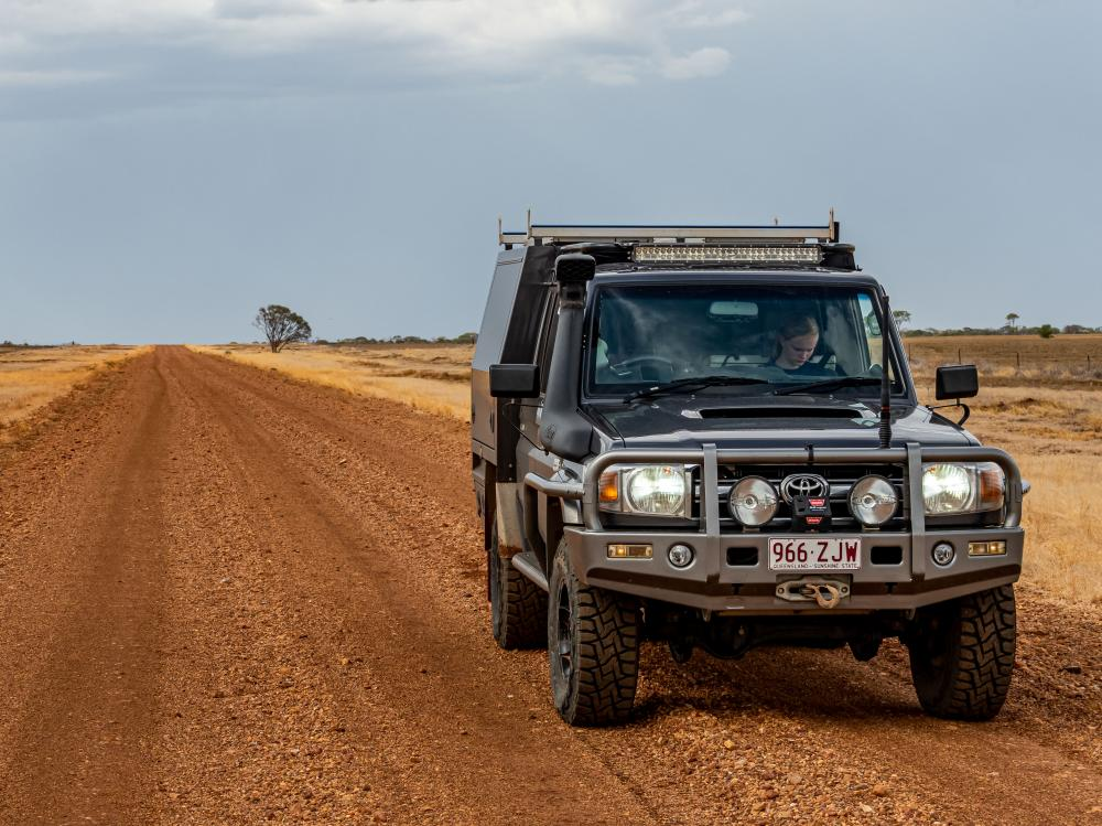 Black 4WD Open Sky Touring