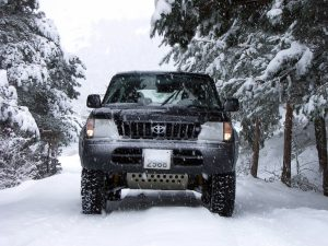 4WD on Snow Open Sky Touring