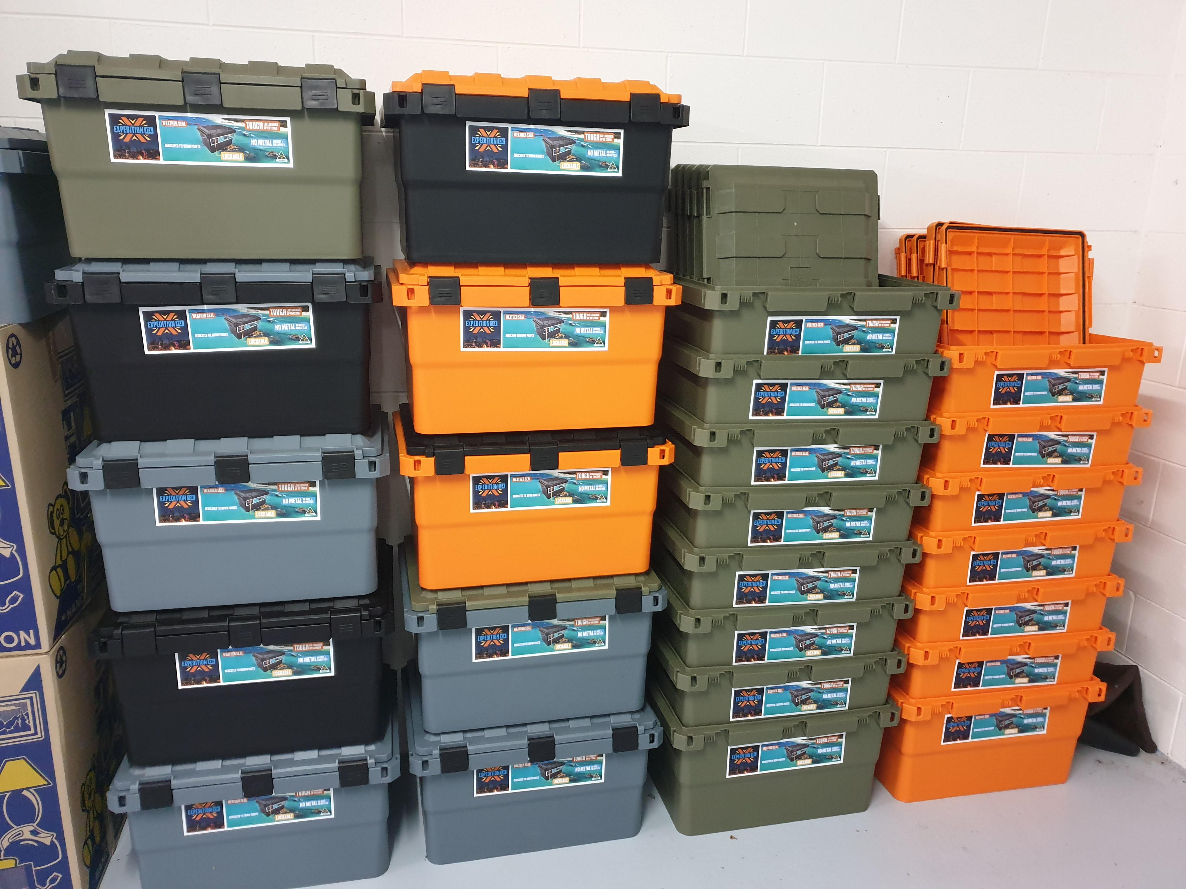 Expedition 134 Boxes Stacks