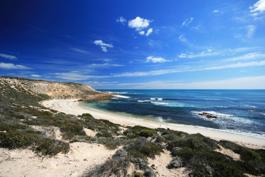 Coffin Bay Fishing Campsites in Australia Open Sky Touring