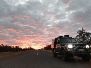 Reduce 4WD Weight Sunset Sky