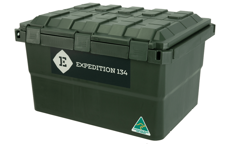 Expedition134 Military Green Box