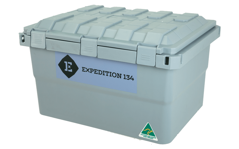 Expedition134 Steel Grey Box